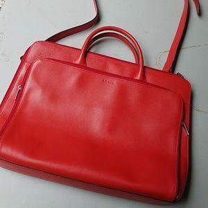 Lodis Red Laptop Bag